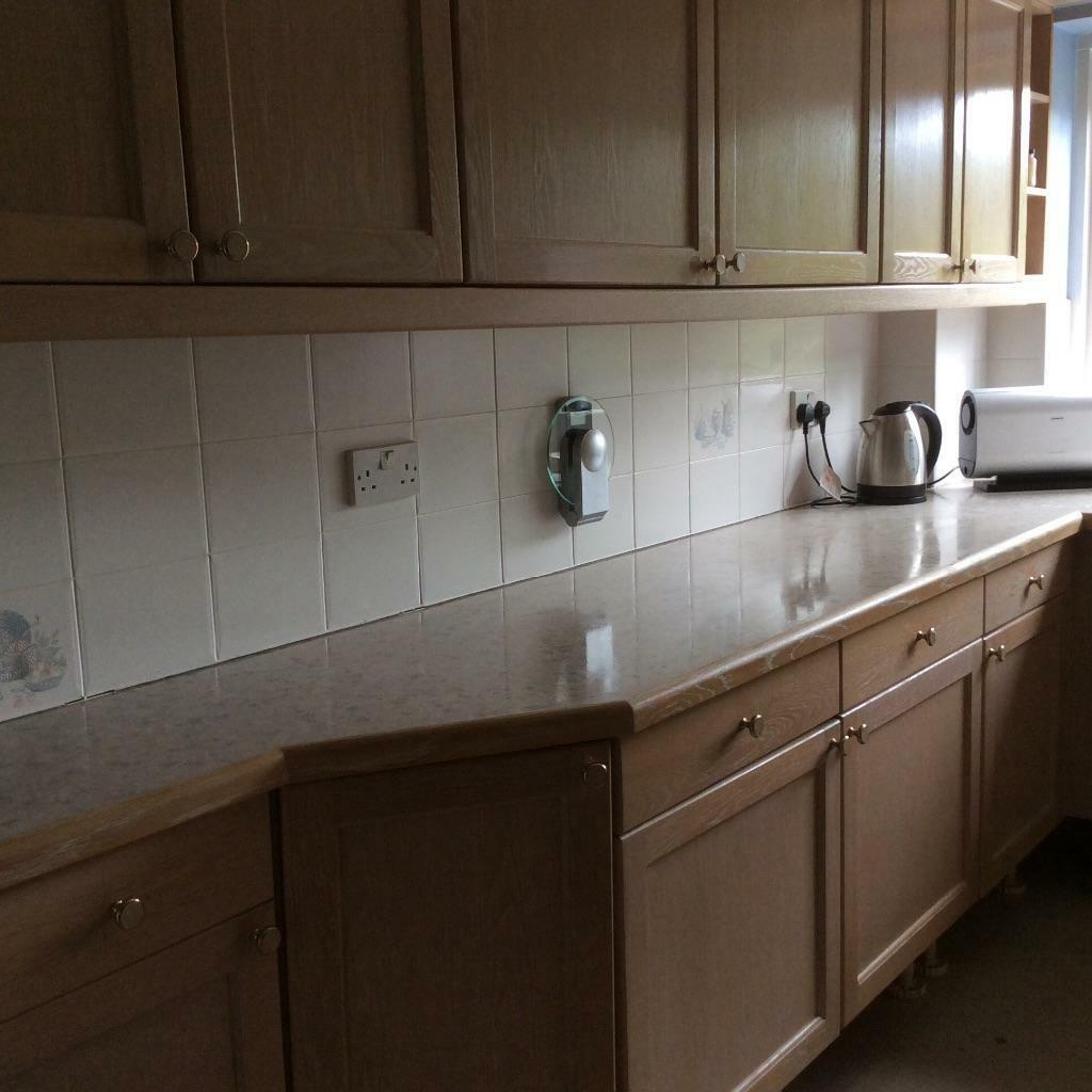 Limed oak wall unit buy sale and trade ads great prices for Oak kitchen units for sale