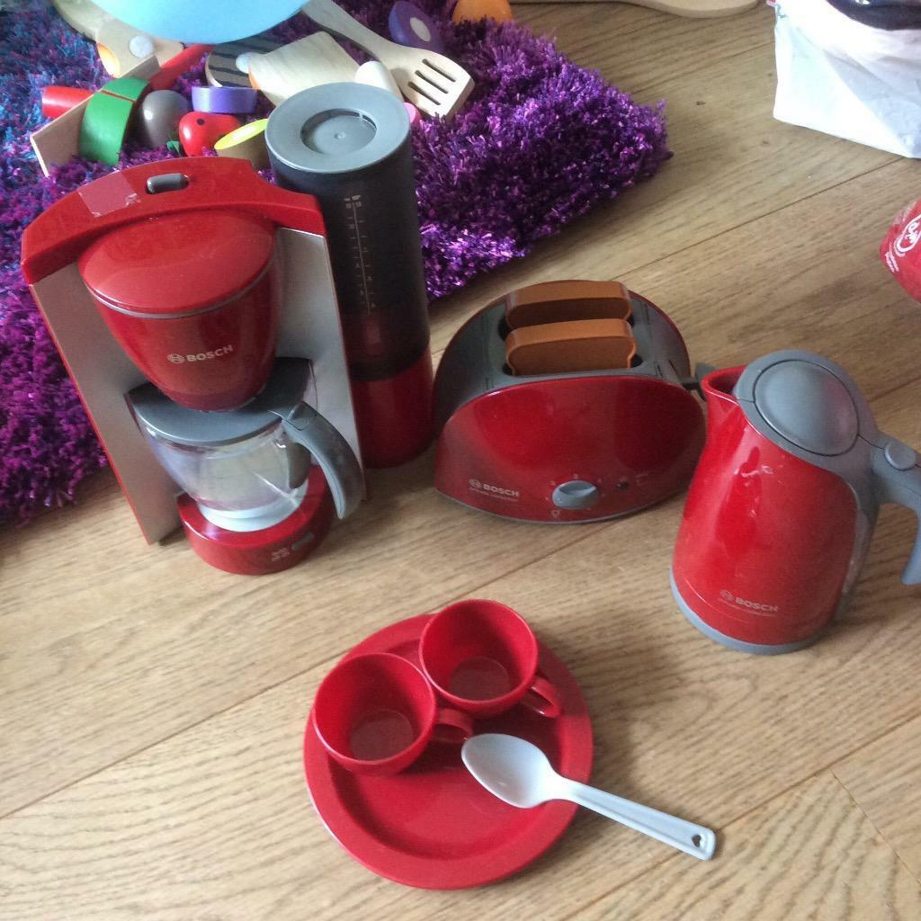 Toy kettle toaster microwave play Buy, sale and trade ads