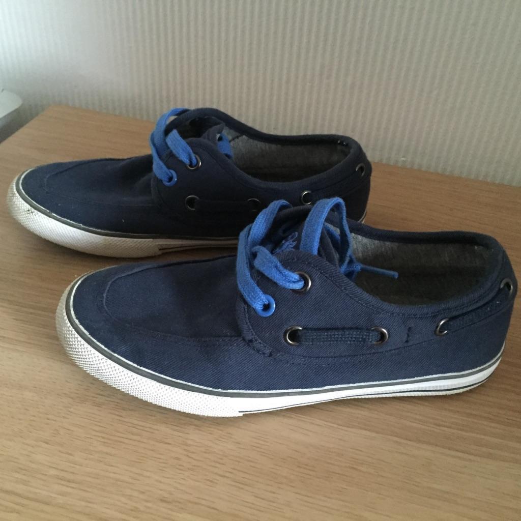 boys next canvas boat shoes size 1 united kingdom gumtree