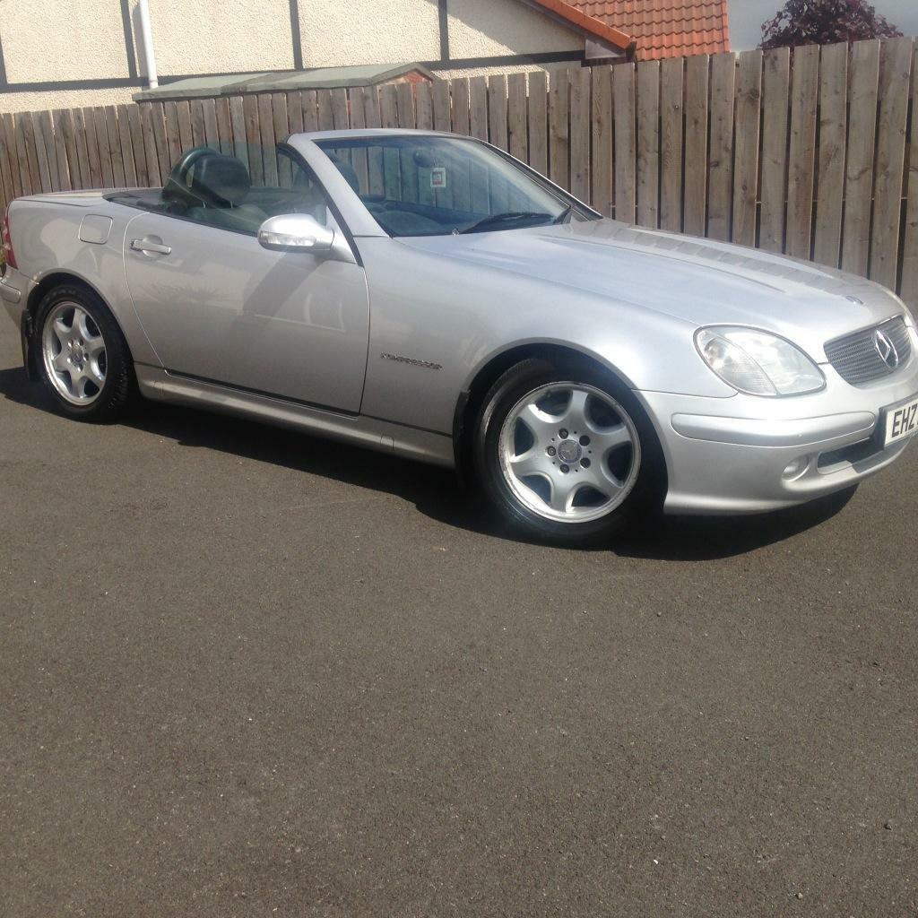 2003 silver mercedes slk 230 convertible united kingdom gumtree. Black Bedroom Furniture Sets. Home Design Ideas