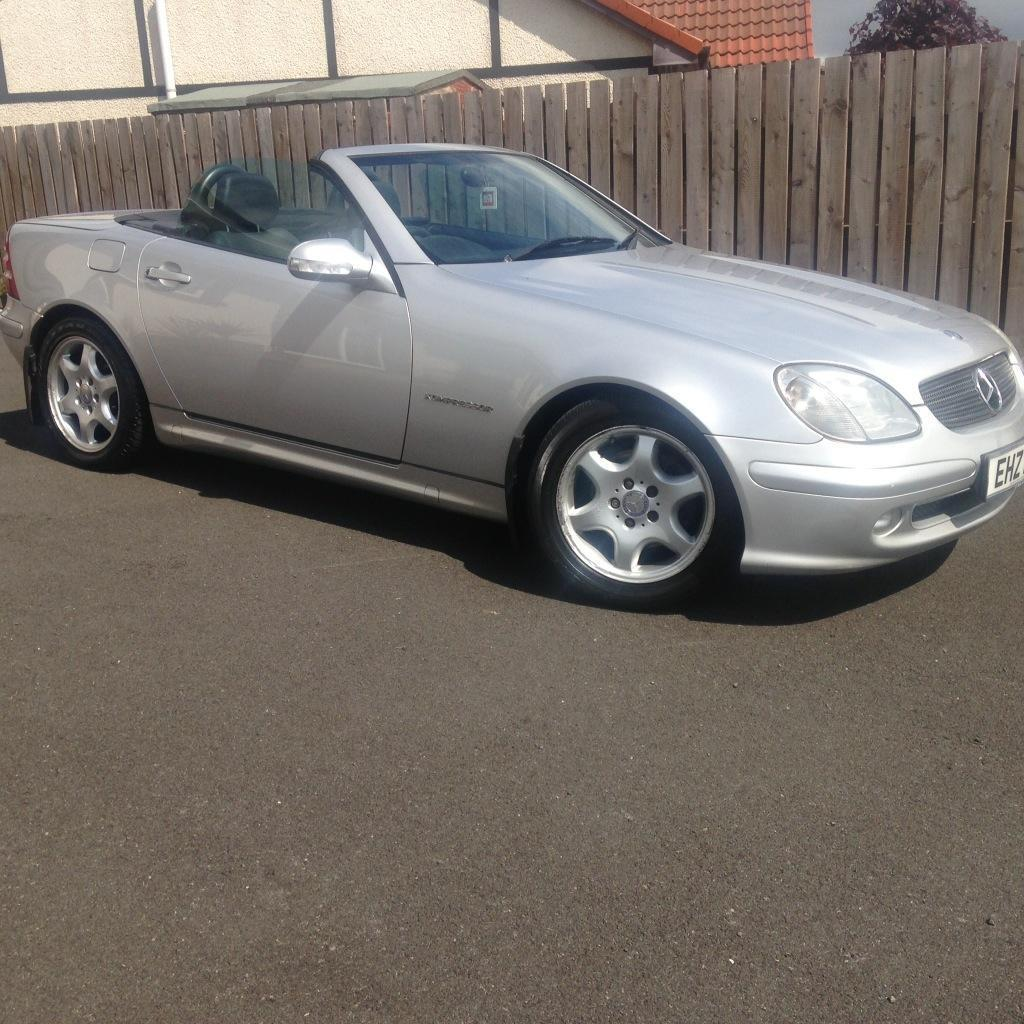 2003 silver mercedes slk 230 convertible united kingdom. Black Bedroom Furniture Sets. Home Design Ideas