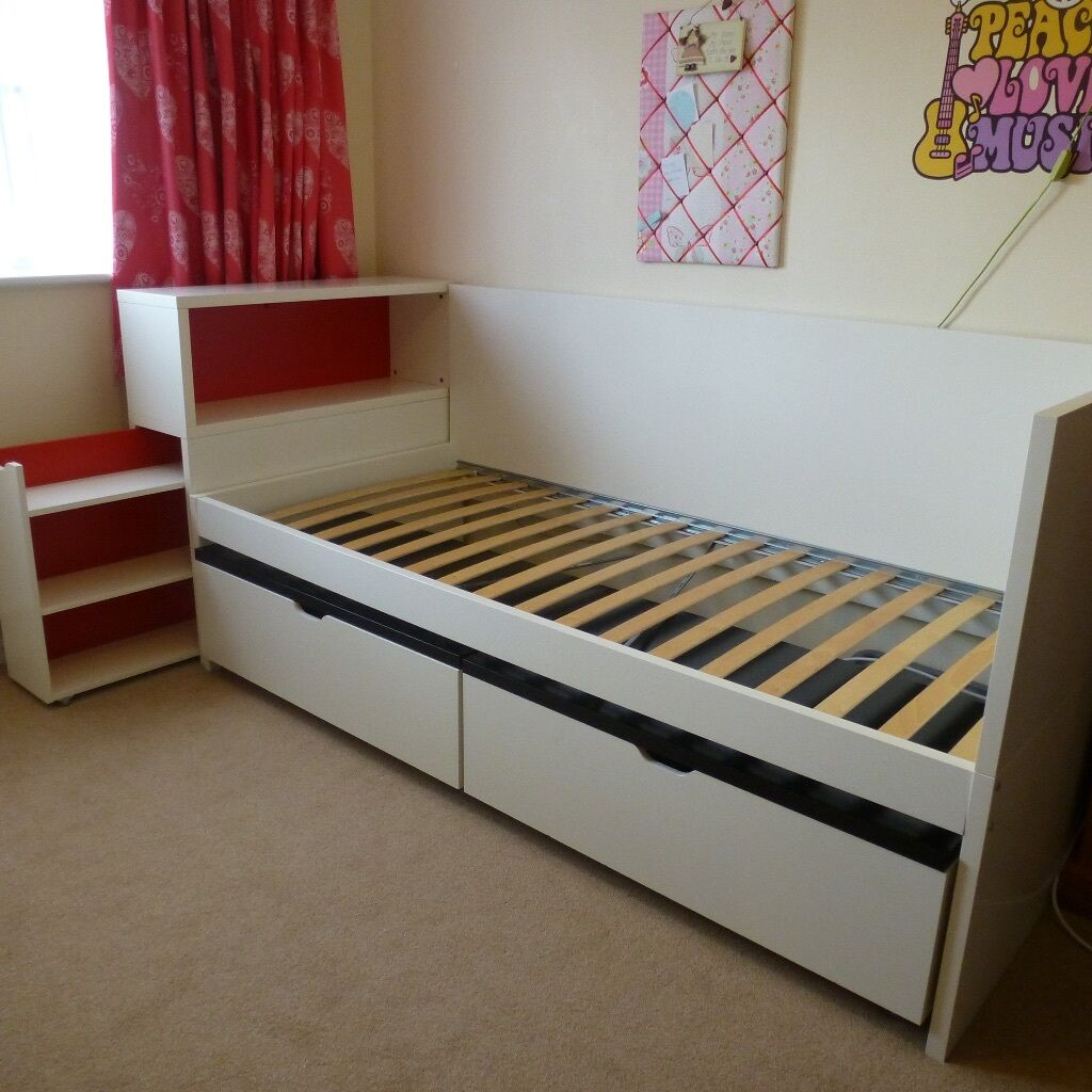 Full Bed Frame With Headboard