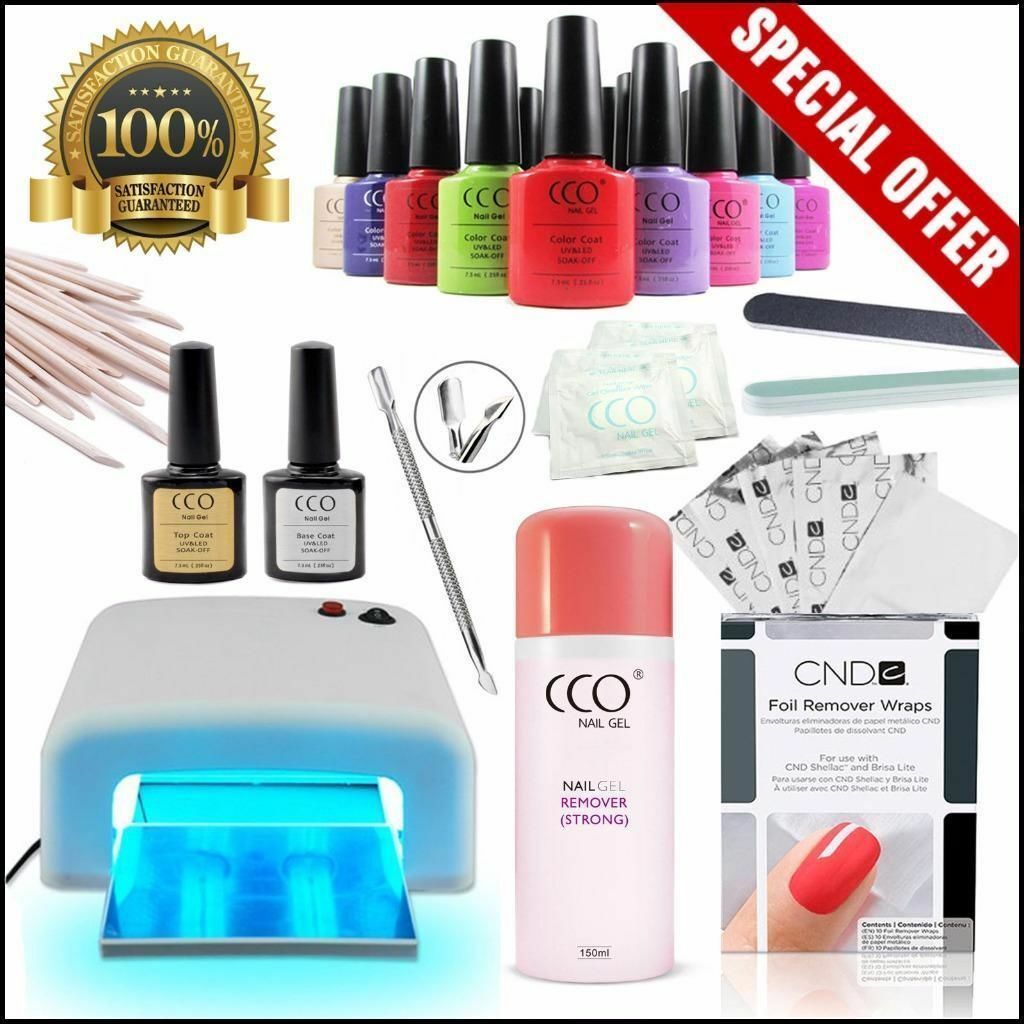 Uv Gel Nail Polish Starter Kit: Rochdale, Manchester £49.00