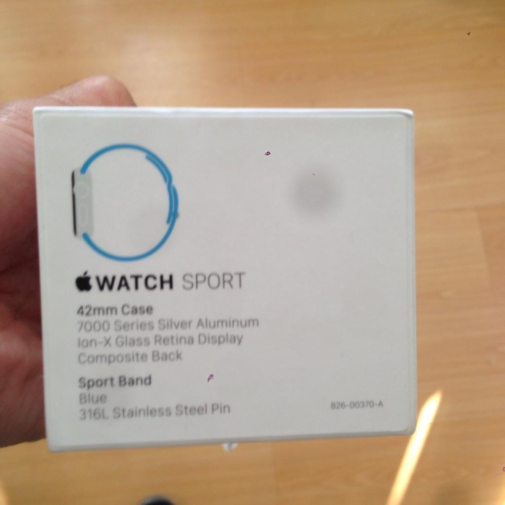 Apple Iwatch Sport Box Apple Iwatch Sport 42mm
