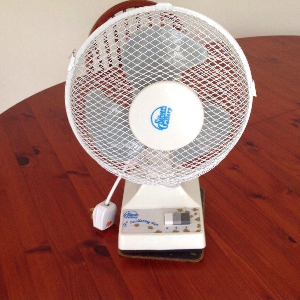 Gumtree Desk Fan : Electric fan fixed oscillating table with two speeds