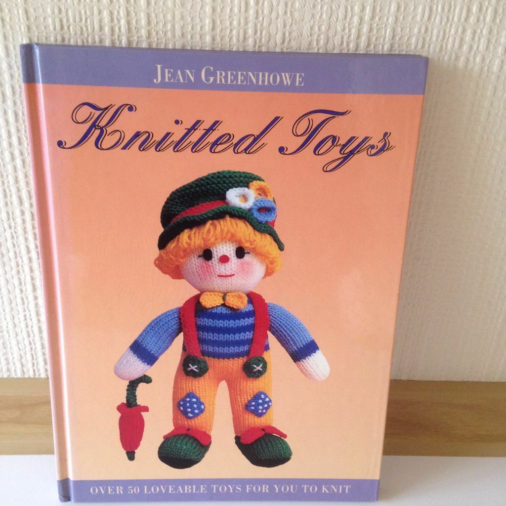 Toy Knitting Pattern Books Pattern Book For Knitted Toys