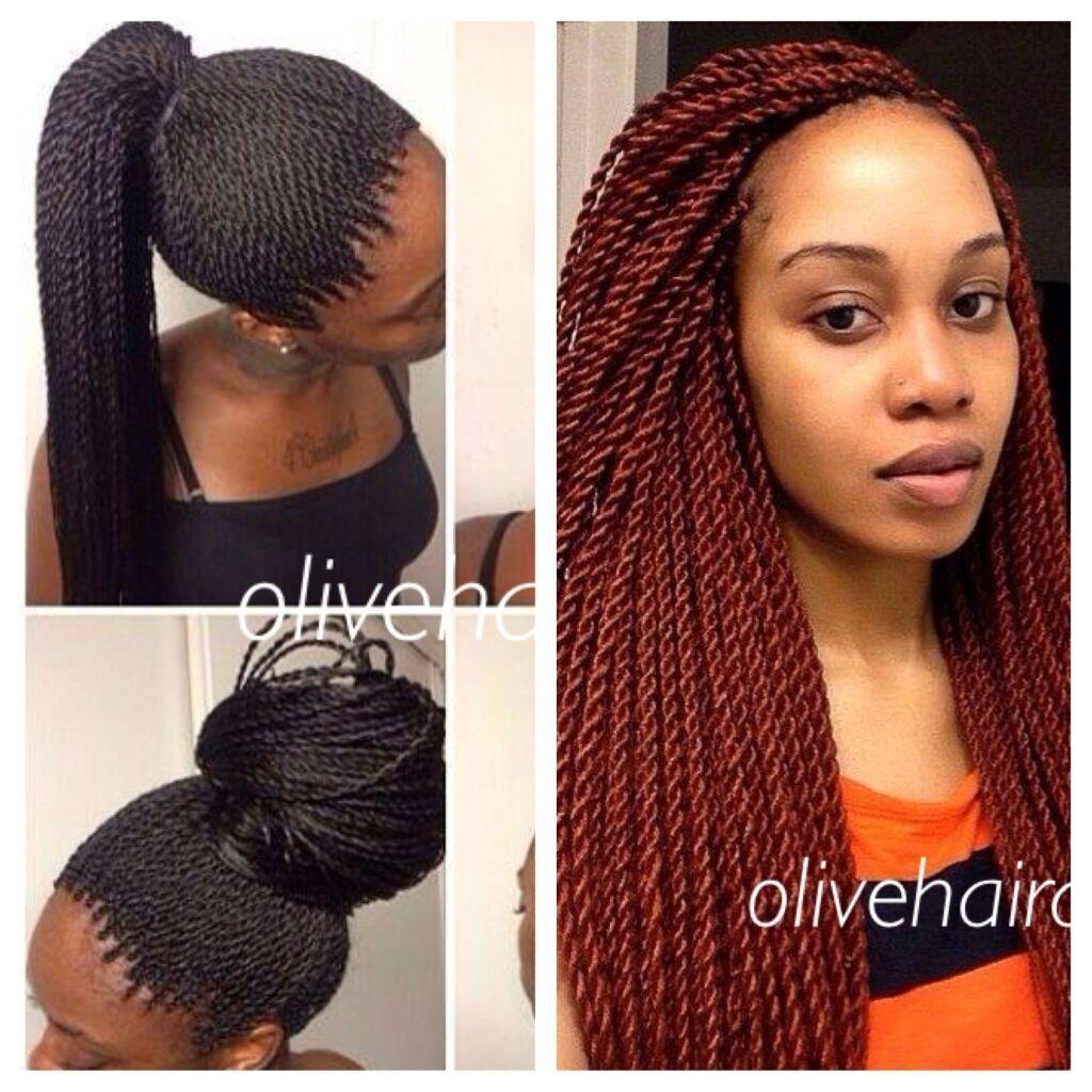 Senegalese Loop Twists Pre Twisted Braids