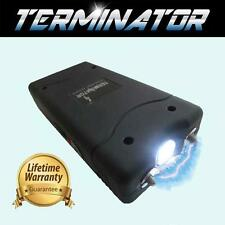 TERMINATOR MAXIMUM POWER MINI RECHARGEABLE POLICE FLASHLIGHT STUN GUN