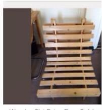 single futon frame tri fold united kingdom gumtree