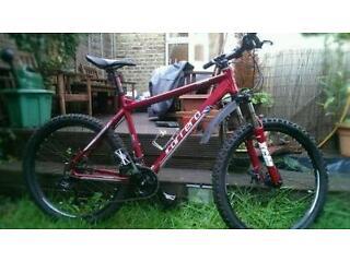 "Carrera Centos mountain bike 20"" frame"