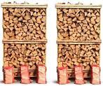 GRATIS HJEMMELEVERING | Dette ovntørrede brænde er savet og kløvet i standardlængde og klar til brug med det samme. Stykkerne er tilpasset pejs og brændeovn....