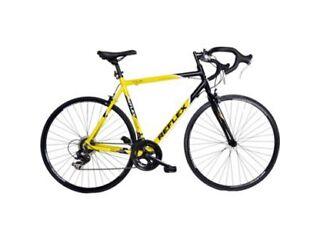 Reflex Men's Tour Racing Bike - Yellow, 56 cm