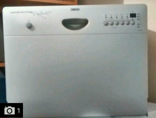 Table Top Dishwasher For Sale : Zanussi Compact Table Top Dishwasher Table top dishwasher in excellent ...