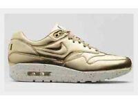 2508cb89e5054 Nike airmax liquid Gold - uk8 (not yeezy