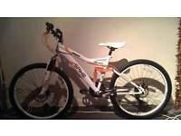Suspension Bike. Unisex nearly new condition! £60