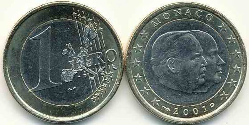monaco 1 euro von 2001 lose m nze sehr selten in d sseldorf bezirk 1 ebay kleinanzeigen. Black Bedroom Furniture Sets. Home Design Ideas