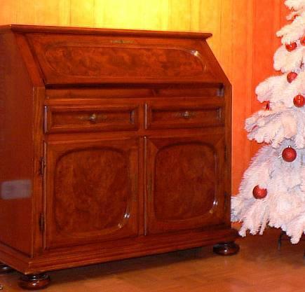 wundersch ner antiker massivholz sekret r mit intarsien rheine in nordrhein westfalen rheine. Black Bedroom Furniture Sets. Home Design Ideas