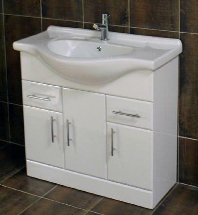 Elegant IKEA LILLNGEN Bathroom Mirror Cabinet With 2 Doors White FOR SALE