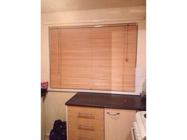 Wooden Blinds Excellent Condition United Kingdom Gumtree