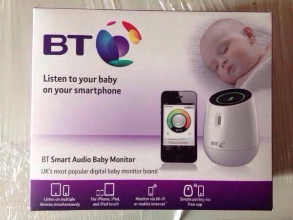 bt audio baby monitor brand new in boxyou dont need to be with bt which is e. Black Bedroom Furniture Sets. Home Design Ideas