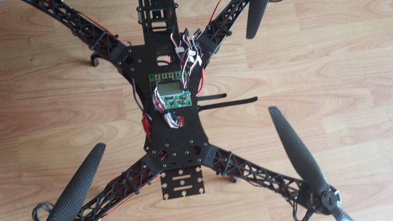 Quad Heavy Lift hj Quadcopter Heavy Lift rc