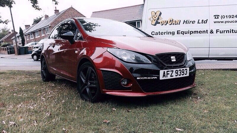 seat ibiza bocanegra 1 4 tsi turbo supercharged 180bhp. Black Bedroom Furniture Sets. Home Design Ideas