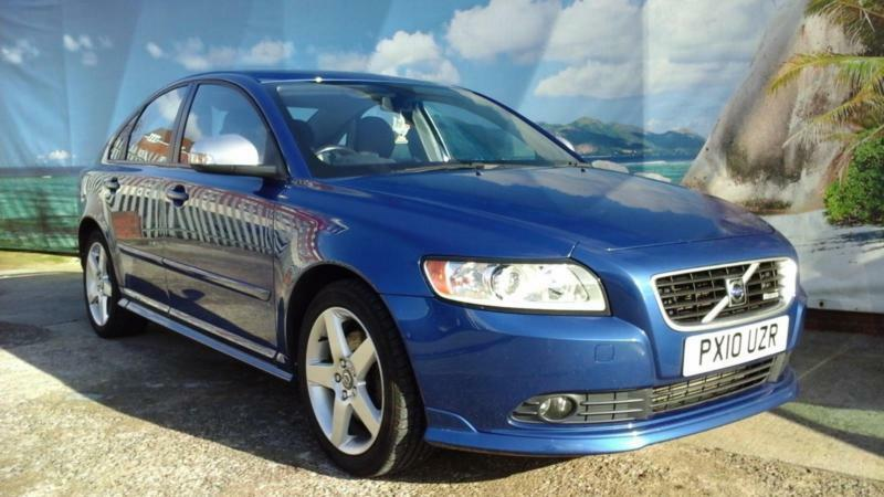 2010 volvo s40 d r design saloon diesel united kingdom. Black Bedroom Furniture Sets. Home Design Ideas