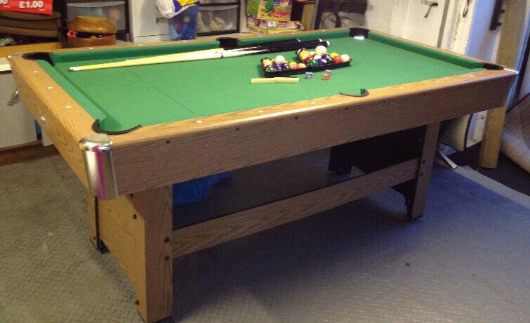 Debut Phoenix 6ft Pool Table