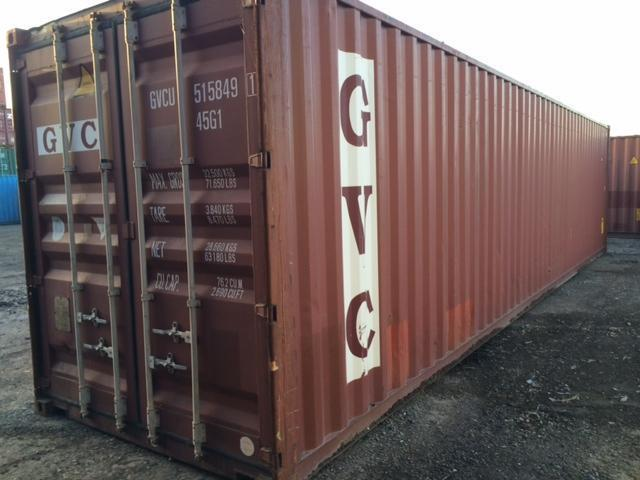 40ft High Cube Shipping Containers For Sale Csc Plated