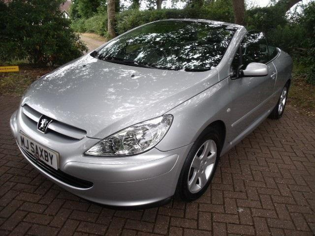 peugeot 307 cc coupe cabriolet petrol manual 2003 53 united kingdom gumtree. Black Bedroom Furniture Sets. Home Design Ideas