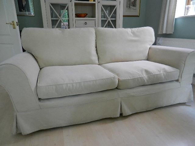 Sofa with loose covers United Kingdom