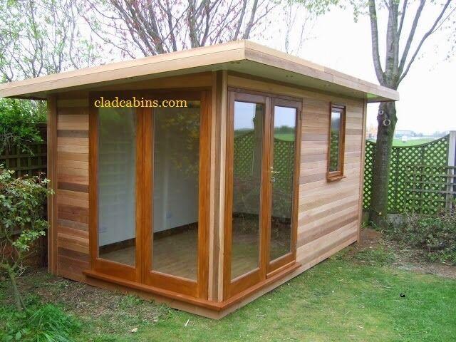 Joiner carpenter cabins playhouses garden rooms sheds log for Garden decking gumtree