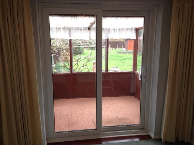 Upvc double glazed patio doors united kingdom gumtree for Double glazed upvc patio doors