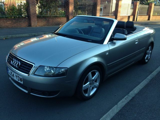2004 audi a4 cabriolet 1 8 t quattro 4 wheel drive united kingdom gumtree. Black Bedroom Furniture Sets. Home Design Ideas