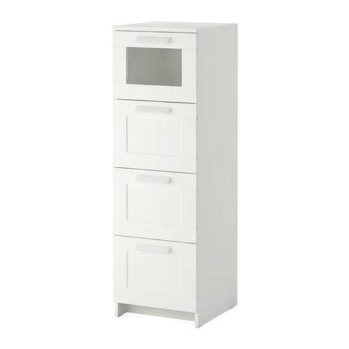 x2 White Ikea Drawers  United Kingdom  Gumtree