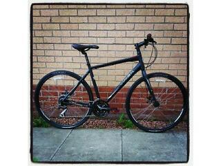 Trek Hybrid 7.2 Disk Bike. 1 year old, great condition.