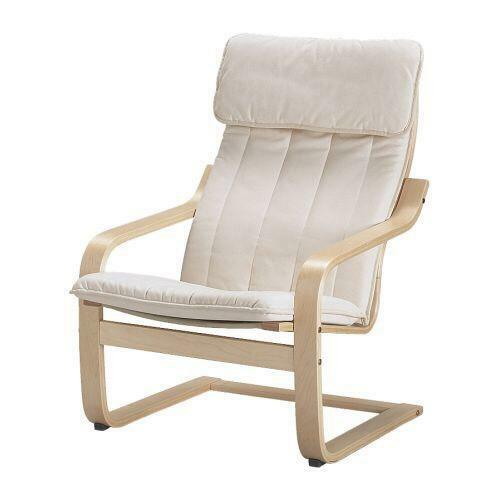 IKEA poang chair breastfeeding nursery feeding nursing  United