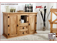 sideboard schrank massiv buche von rs m bel in m nster amelsb ren wohnwand gebraucht. Black Bedroom Furniture Sets. Home Design Ideas