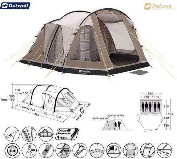 Outwell Nevada M Tent 5 Buy Sale And Trade Ads Great Prices