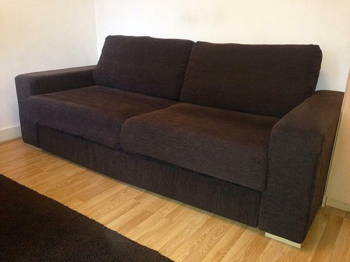 Large 3 seater fabric sofa bed united kingdom gumtree for Sofa bed gumtree london