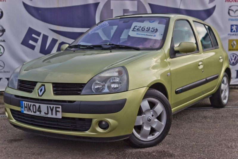 2004 renault clio 1 5 privilege dci diesel 5 door new mot full service history 2 united. Black Bedroom Furniture Sets. Home Design Ideas