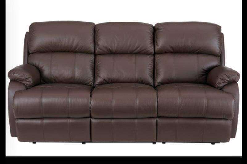 2 Leather Reclining Sofas United Kingdom Gumtree