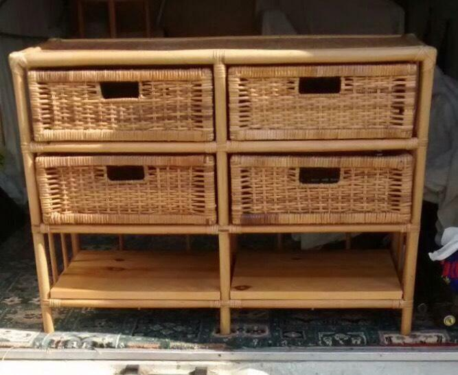 Wicker unit drawers united kingdom gumtree for J bathrooms westcliff