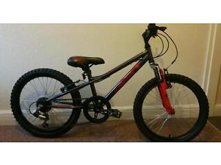 Spider front suspension moutain bike age 5 to 11