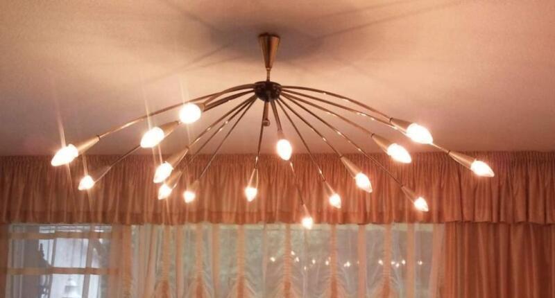 gesucht xxl sputnik spinne deckenlampe alt messing in dortmund dortmund sch ren lampen. Black Bedroom Furniture Sets. Home Design Ideas
