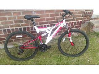 """MuddyFox 26"""" suspension bike"""
