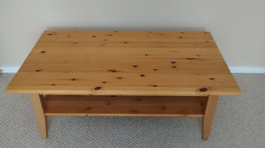 Wooden Coffee Table For Sale Bought From Ikea United