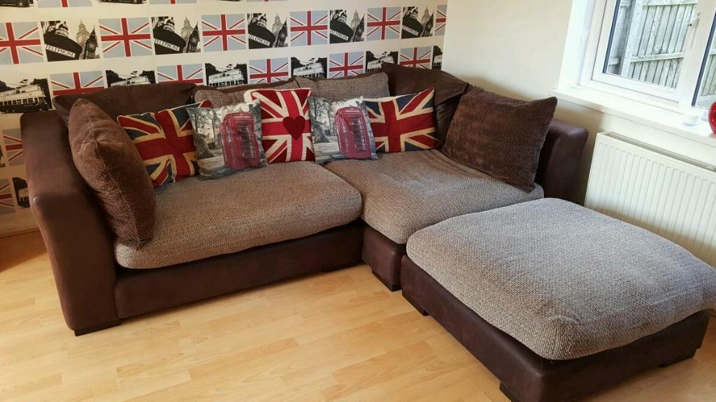 DFS Corner Sofa And Swivel Chair United Kingdom Gumtree