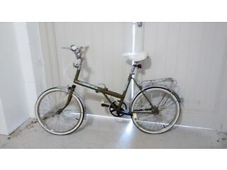 Retro folding bicycle