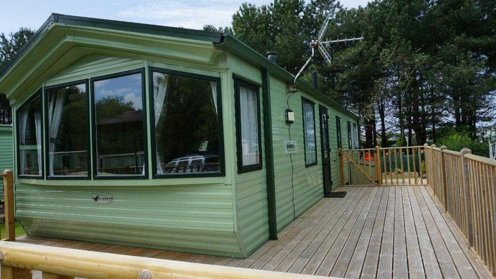 Unique Static Caravan For Hire At Sunnysands Near Barmouth